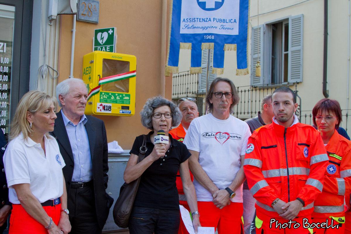 Salso nel Cuore - Inaugurazione Dae Via Milano