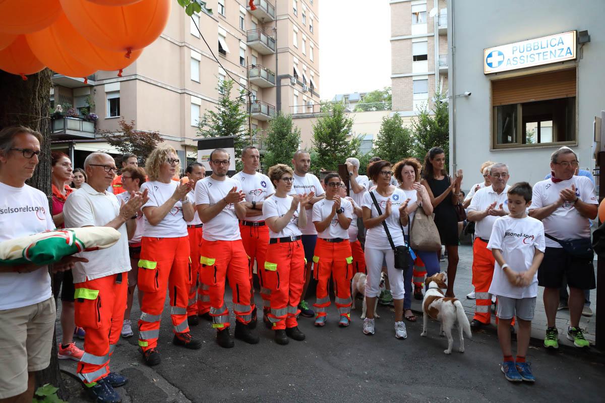 Tanti volontari hanno dato il loro contributo durante la Heart Race di Salsomaggiore Terme